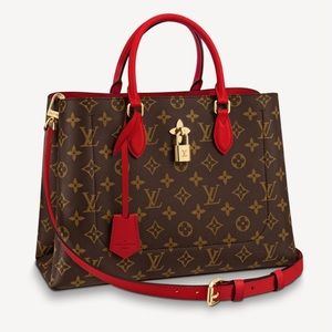 ❌SOLD ON OUR SITE❌ Louis Vuitton Flower Tote Monogram Red Poppy Bag